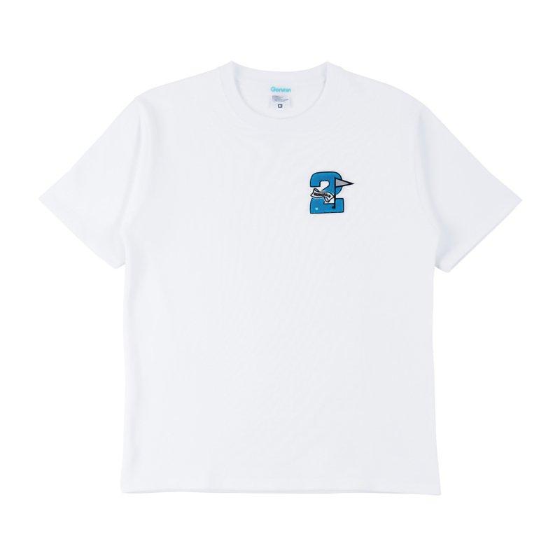 Gorurun セカンドフラッグ Tシャツ / ホワイト