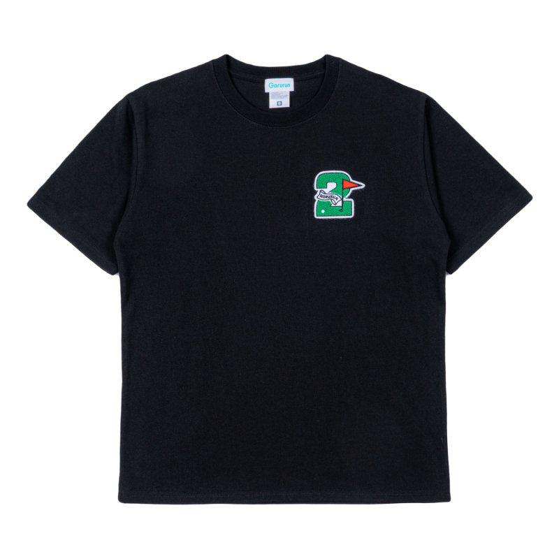 Gorurun セカンドフラッグ Tシャツ / ブラック