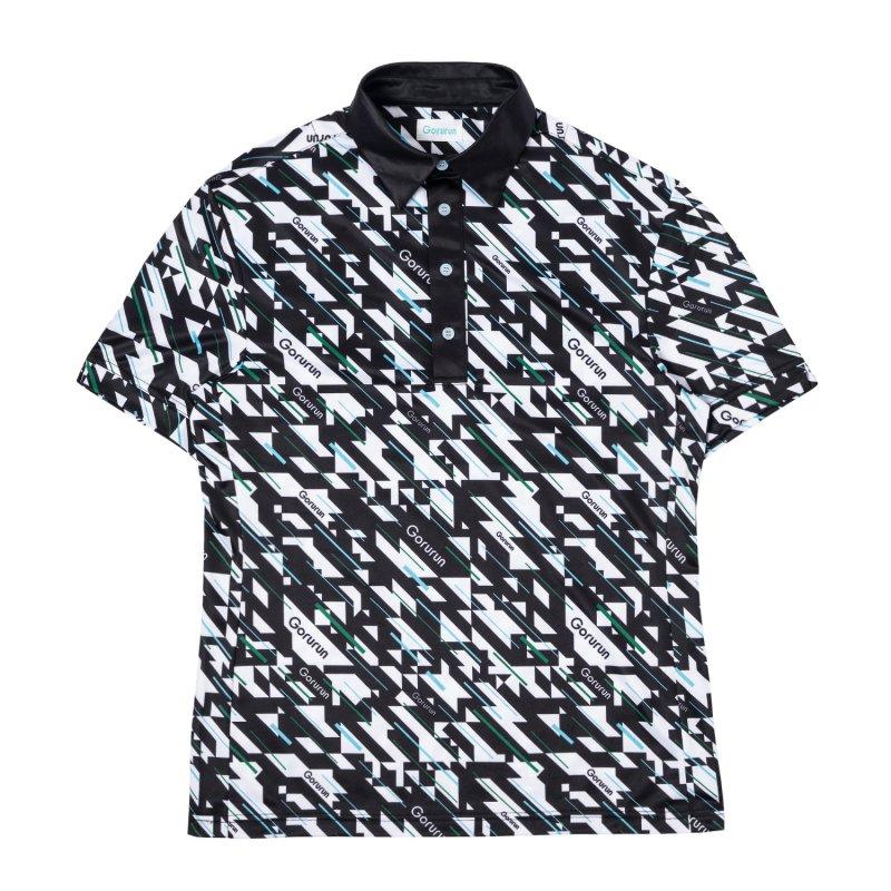 Gorurun ブリージンムーブ ポロシャツ / ブラック