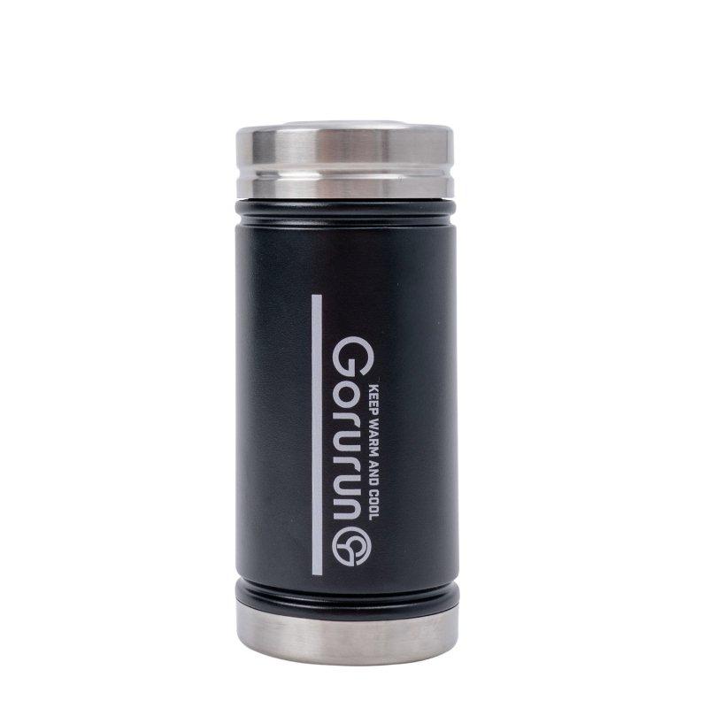Gorurun mizu アットg V5 ワイドボトル 450ml ブラック