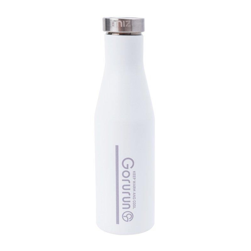 Gorurun mizu アットg S4 スリムボトル 415ml ホワイト