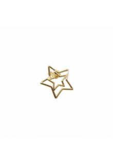 【ALIITA】アリータ イヤリング《PURA》イエローゴールド スター シングルピース