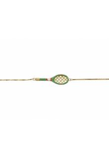 【ALIITA】アリータ ブレスレット 《SCIENTIFIC MATCH POINT》エナメル グリーンミント テニスラケット