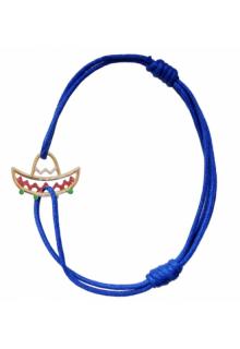 【ALIITA】アリータ ブレスレット《PURA》イエローゴールド エナメル 帽子 ブルー