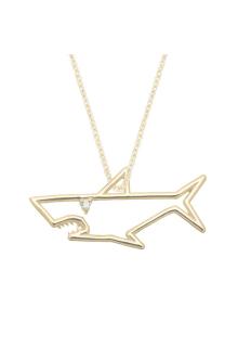 【ALITA】アリータ ネックレス《PURA》TIBURON BRILLANTE イエローゴールド サメ
