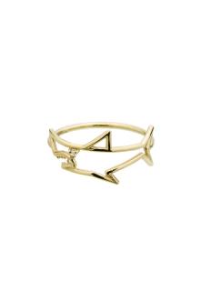 【ALITA】アリータ リング 《PURA》 ホワイトダイヤモンド サメ