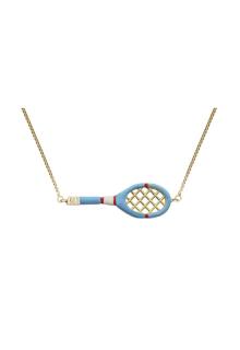 【ALITA】アリータ ネックレス《SCIENTIFIC MATCH POINT》スカイブルー テニスラケット