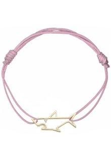 【ALITA】アリータ ブレスレット《PURA》イエローゴールド ホワイトダイヤモンド サメ アンティークピンク