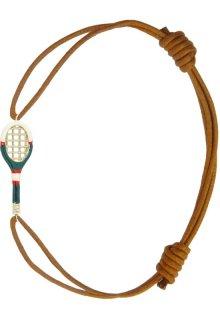 【ALITA】アリータ ブレスレット《NADADORA COMPLET》エナメル テニスラケット コニャック