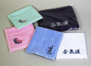 刺繍入りタオル