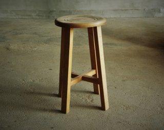 木製スツール/丸椅子