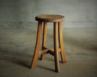 木製スツール/丸椅子 (2)
