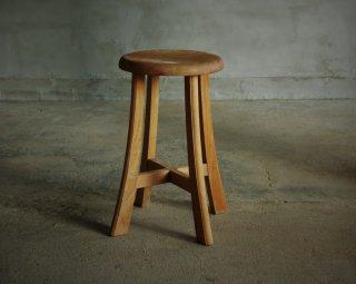 木製スツール/丸椅子 (3)