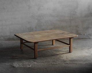 栃材の座卓/ローテーブル