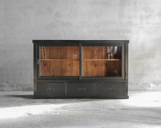 黒色戸棚/ローボード