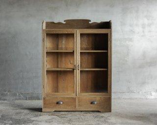 【商談中】栗の開き戸棚
