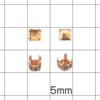 石座 4本爪 PP21用 真鍮製 (100個)