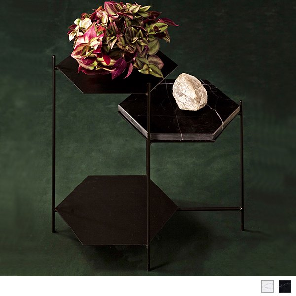 Bee side tables ビーサイドテーブル ペイント