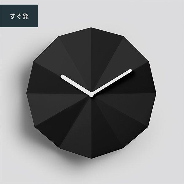 Delta Clock Black / デルタ クロック ブラック