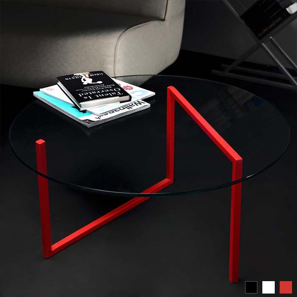 SNAKE round coffee table