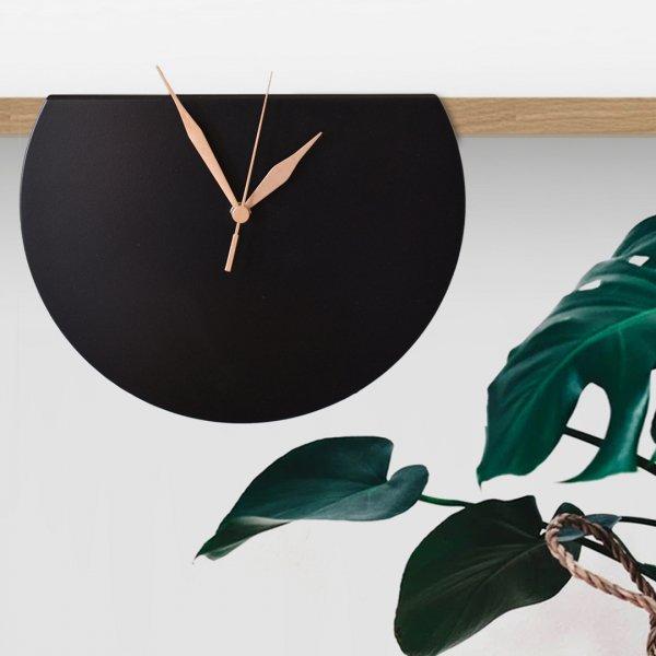Black Gala Clock ブラック ガラ クロック