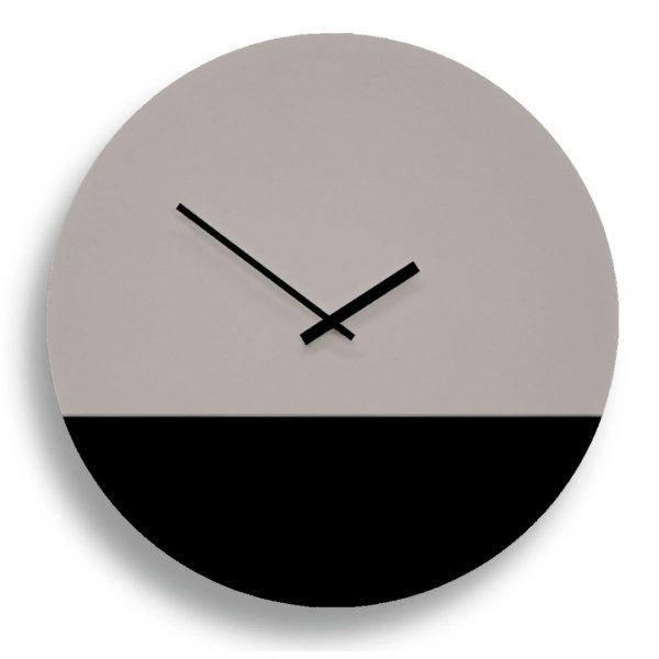 TOO tone Clock トゥー トーン クロック - セメント & ブラック