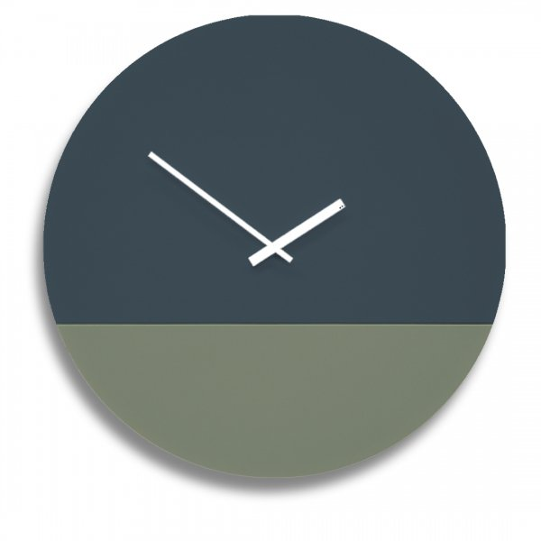 TOO tone Clock トゥー トーン クロック - スレート & ユーカリ