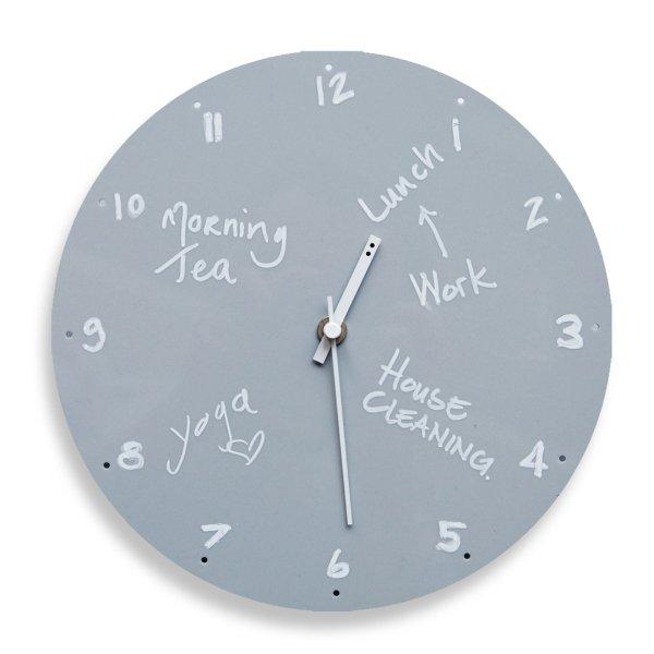 TOO-Do Day planner clock Grey / トゥードゥー デイプランナー クロック グレイ