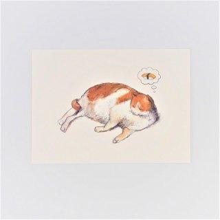 黒山 Sushi Cat Print