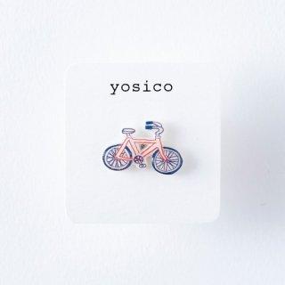 yosico ひとつぶピアス 自転車