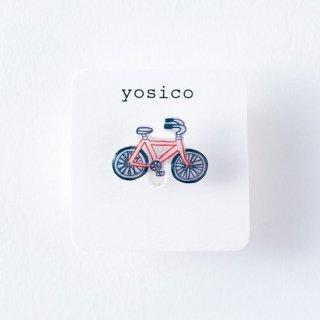 yosico ひとつぶイヤリング 自転車