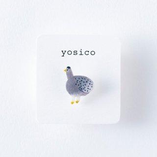 yosico ひとつぶイヤリング ウズラ