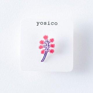 yosico ひとつぶイヤリング 星の花