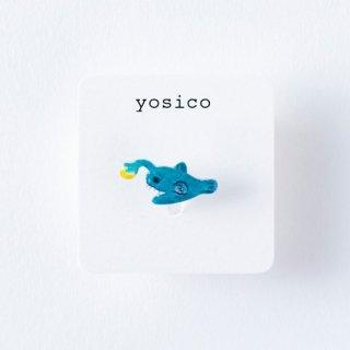 yosico ひとつぶイヤリング アンコウ