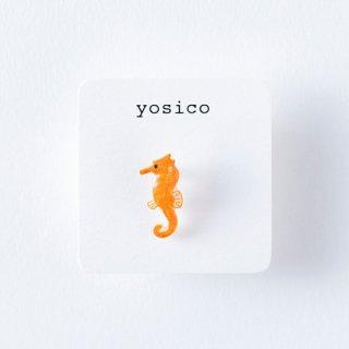 yosico ひとつぶイヤリング タツノオトシゴ