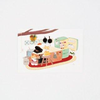 にこべる イラストカード3