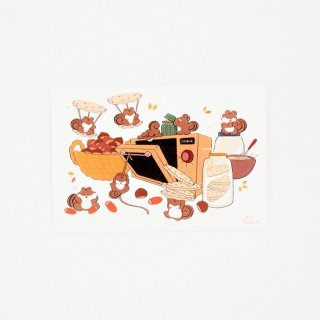にこべる イラストカード4