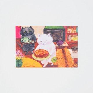 カマノレイコ ポストカード タルトタタン