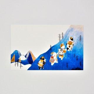 阿猫菜市場 カード Let's Go Hiking