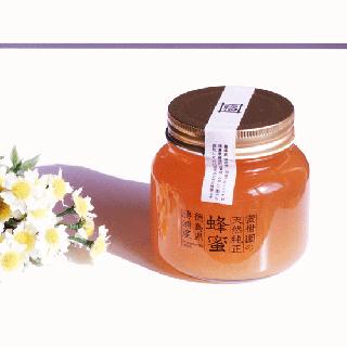 蜜柑園の天然純正蜂蜜460g<br></br>