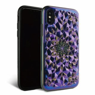 《FELONYCASE フェロニーケース》KALEIDOSCOPE IPHONE CASE COSMIC HOLOGRAPHIC iPhone/X.XS XR XMAX