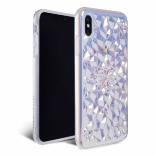 《FELONYCASE フェロニーケース》KALEIDOSCOPE CASE CLEAR COSMIC HOLOGRAPHIC iPhone/7.8(第二世代SE対応) X.XS XR XMAX 11