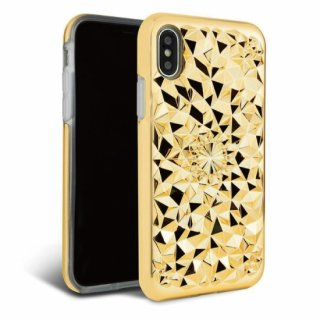 《FELONYCASE フェロニーケース》KALEIDOSCOPE CASE GOLD iPhone/7.8(第二世代SE対応) X.XS XR XMAX