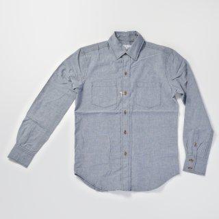 《BROOKLYNDENIM ブルックリンデニム》CHAMBRAY SHIRTS シャンブレーシャツ