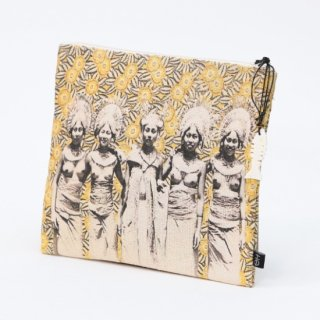 【SPECIAL OUTLET SALE】《MAKASSI マカシ》POUCH OH ポーチ オー コットンポーチ ミニポーチ