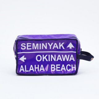【SPECIAL OUTLET SALE】《MAKASSI マカシ》TOILET BAG  トイレットバッグ