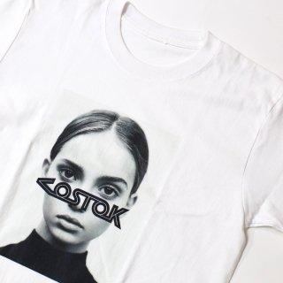 《BLUEMERIA ブルメリア》INKA/FRONT Tシャツ フォトTシャツ モデル モノクロ