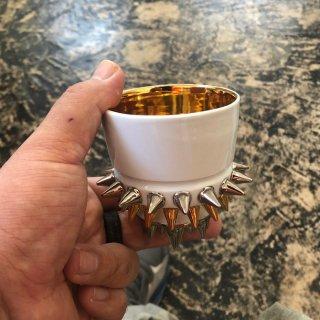 《TAKAHIROKOGA タカヒロコガ》SPIKY CUP2 スパイキーカップ2 セラミック スタッズアート 陶器 陶芸 陶芸家 古賀崇洋
