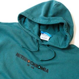 《HETEROCHROMIA OF IRIS ヘテロクロミアオブアイリス》クラシックロゴパーカースウェットパーカー チャンピオンボディー ロゴ