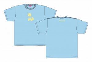 【ギャルと恐竜】「おけまる水産」ビッグシルエットTシャツ